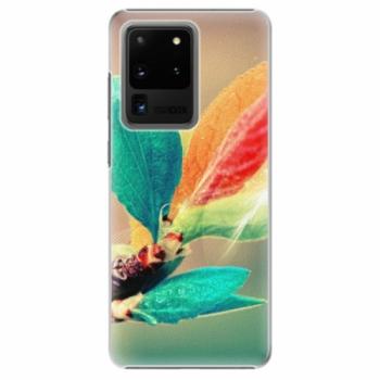 Plastové pouzdro iSaprio - Autumn 02 - Samsung Galaxy S20 Ultra