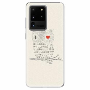Plastové pouzdro iSaprio - I Love You 01 - Samsung Galaxy S20 Ultra