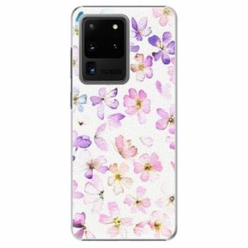 Plastové pouzdro iSaprio - Wildflowers - Samsung Galaxy S20 Ultra