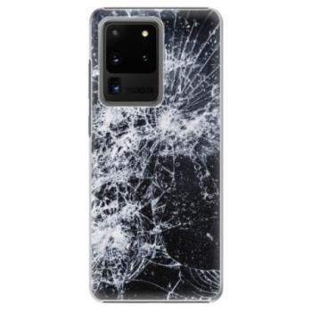 Plastové pouzdro iSaprio - Cracked - Samsung Galaxy S20 Ultra