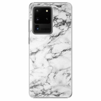 Plastové pouzdro iSaprio - White Marble 01 - Samsung Galaxy S20 Ultra