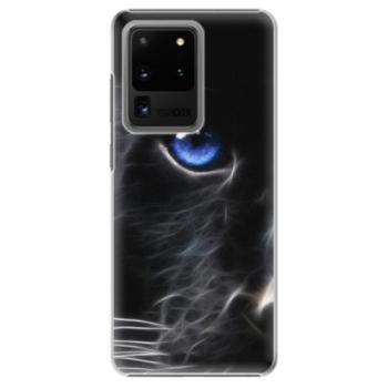 Plastové pouzdro iSaprio - Black Puma - Samsung Galaxy S20 Ultra
