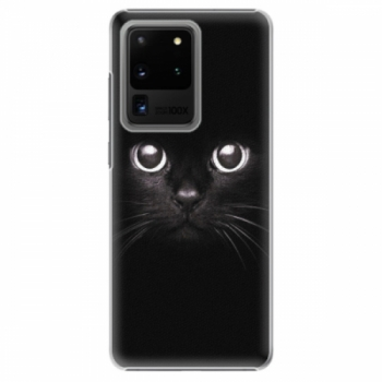 Plastové pouzdro iSaprio - Black Cat - Samsung Galaxy S20 Ultra