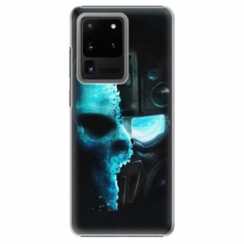 Plastové pouzdro iSaprio - Roboskull - Samsung Galaxy S20 Ultra