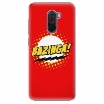 Plastové pouzdro iSaprio - Bazinga 01 - Xiaomi Pocophone F1