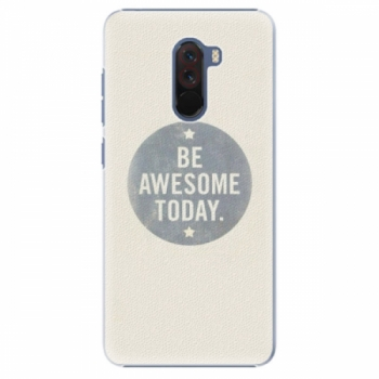 Plastové pouzdro iSaprio - Awesome 02 - Xiaomi Pocophone F1