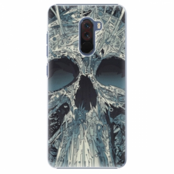 Plastové pouzdro iSaprio - Abstract Skull - Xiaomi Pocophone F1