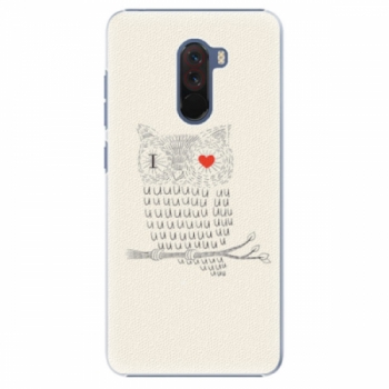 Plastové pouzdro iSaprio - I Love You 01 - Xiaomi Pocophone F1