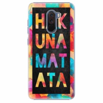 Plastové pouzdro iSaprio - Hakuna Matata 01 - Xiaomi Pocophone F1