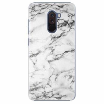 Plastové pouzdro iSaprio - White Marble 01 - Xiaomi Pocophone F1