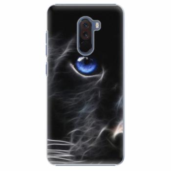 Plastové pouzdro iSaprio - Black Puma - Xiaomi Pocophone F1