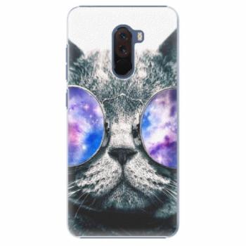 Plastové pouzdro iSaprio - Galaxy Cat - Xiaomi Pocophone F1