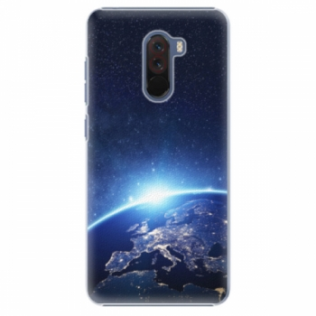 Plastové pouzdro iSaprio - Earth at Night - Xiaomi Pocophone F1