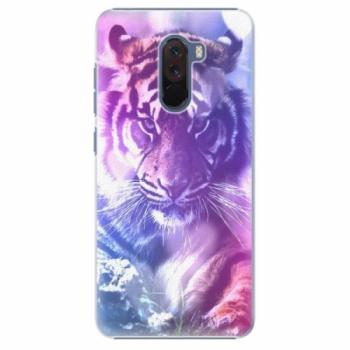 Plastové pouzdro iSaprio - Purple Tiger - Xiaomi Pocophone F1