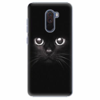 Plastové pouzdro iSaprio - Black Cat - Xiaomi Pocophone F1