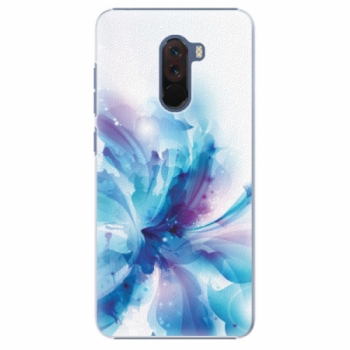 Plastové pouzdro iSaprio - Abstract Flower - Xiaomi Pocophone F1