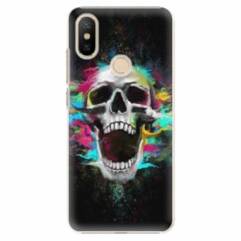 Plastové pouzdro iSaprio - Skull in Colors - Xiaomi Mi A2
