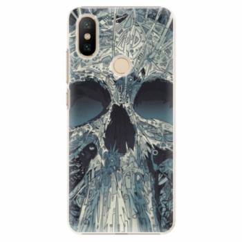 Plastové pouzdro iSaprio - Abstract Skull - Xiaomi Mi A2