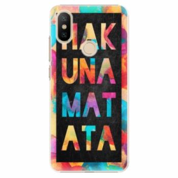 Plastové pouzdro iSaprio - Hakuna Matata 01 - Xiaomi Mi A2