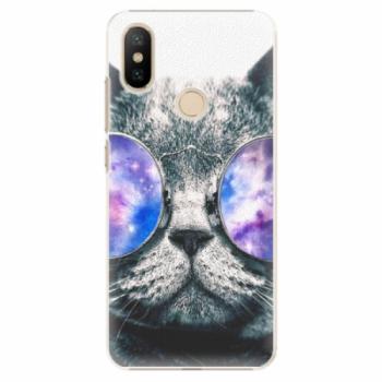 Plastové pouzdro iSaprio - Galaxy Cat - Xiaomi Mi A2