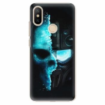 Plastové pouzdro iSaprio - Roboskull - Xiaomi Mi A2
