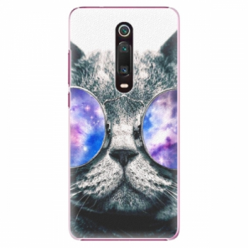 Plastové pouzdro iSaprio - Galaxy Cat - Xiaomi Mi 9T