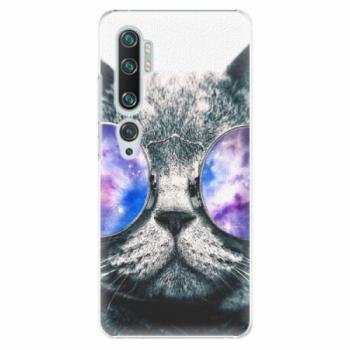 Plastové pouzdro iSaprio - Galaxy Cat - Xiaomi Mi Note 10 / Note 10 Pro