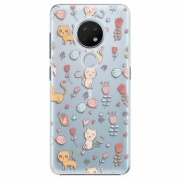 Plastové pouzdro iSaprio - Cat pattern 02 - Nokia 6.2