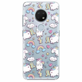 Plastové pouzdro iSaprio - Unicorn pattern 02 - Nokia 6.2