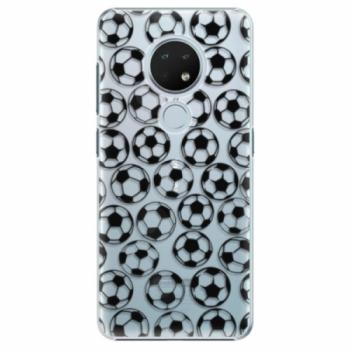 Plastové pouzdro iSaprio - Football pattern - black - Nokia 6.2