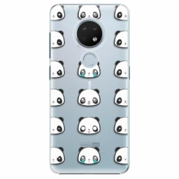 Plastové pouzdro iSaprio - Panda pattern 01 - Nokia 6.2