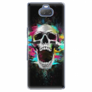 Plastové pouzdro iSaprio - Skull in Colors - Sony Xperia 10
