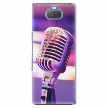 Plastové pouzdro iSaprio - Vintage Microphone - Sony Xperia 10