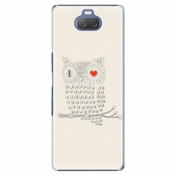 Plastové pouzdro iSaprio - I Love You 01 - Sony Xperia 10