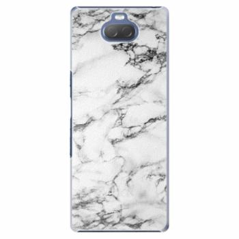 Plastové pouzdro iSaprio - White Marble 01 - Sony Xperia 10