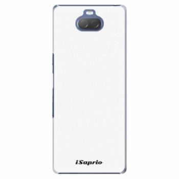 Plastové pouzdro iSaprio - 4Pure - bílý - Sony Xperia 10