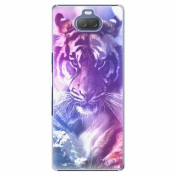 Plastové pouzdro iSaprio - Purple Tiger - Sony Xperia 10