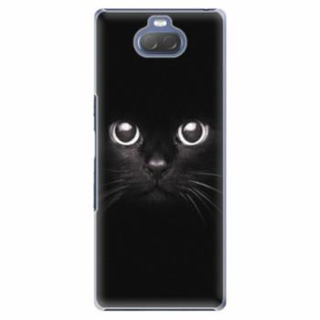 Plastové pouzdro iSaprio - Black Cat - Sony Xperia 10
