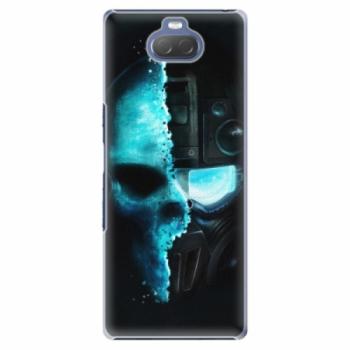 Plastové pouzdro iSaprio - Roboskull - Sony Xperia 10