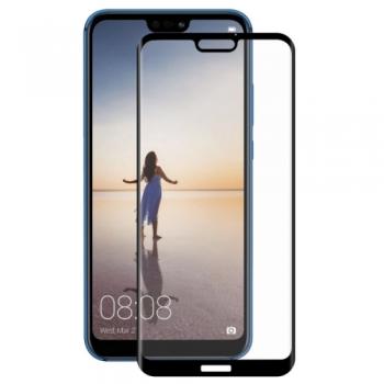 Tvrzené 3D sklo pro Huawei P20 Lite - black