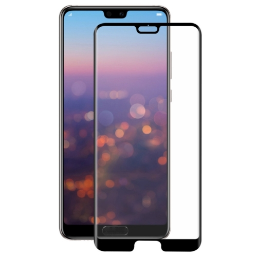 Tvrzené 3D sklo pro Huawei P20 - black