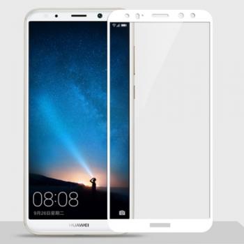Tvrzené 3D sklo Huawei Mate 10 Lite - white