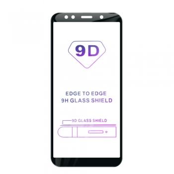 Tvrzené sklo iSaprio 9D BLACK pro Samsung Galaxy A7 (2018)