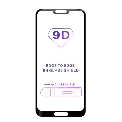 Tvrzené sklo iSaprio 9D BLACK pro Huawei P20