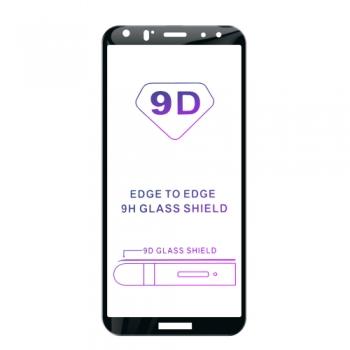 Tvrzené sklo iSaprio 9D BLACK pro Huawei Mate 10 Lite