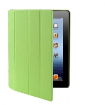 Kožený kryt / pouzdro Smart Cover pro iPad 2 / 3 / 4 zelený