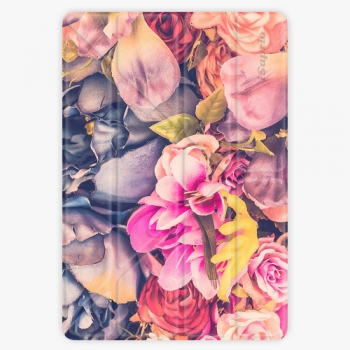 Pouzdro iSaprio Smart Cover - Beauty Flowers - iPad 9.7″ (2017-2018)