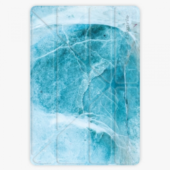 Pouzdro iSaprio Smart Cover - Blue Marble - iPad 9.7″ (2017-2018)