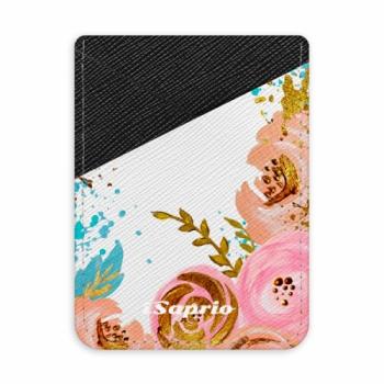 Pouzdro na kreditní karty iSaprio - Golden Youth - tmavá nalepovací kapsa