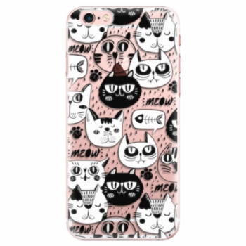 Plastové pouzdro iSaprio - Cat pattern 03 - iPhone 6 Plus/6S Plus